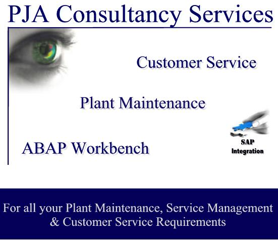 Click here to enter PJA Consultancy Services site